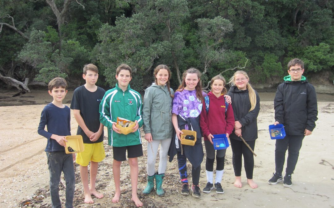 Beach Cleaning and Whitebait Counting