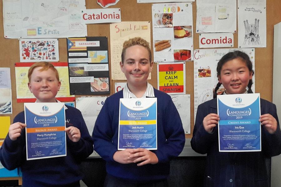 Spanish – Education Perfect Languages Championship 2019