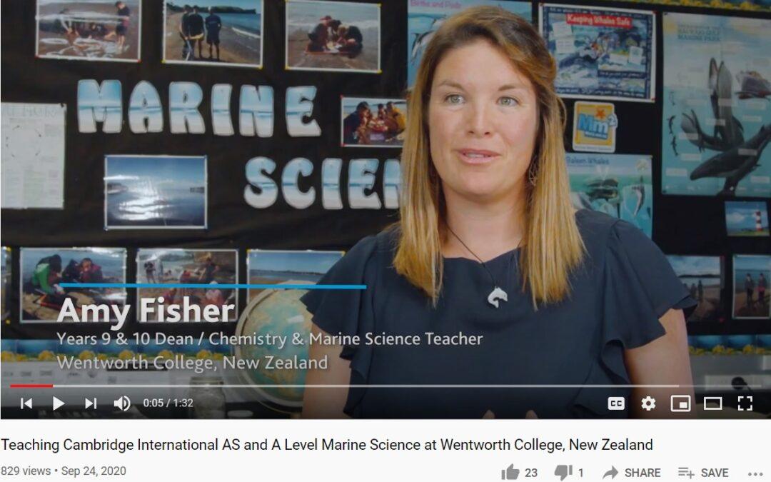 Cambridge International showcase AS Marine Science