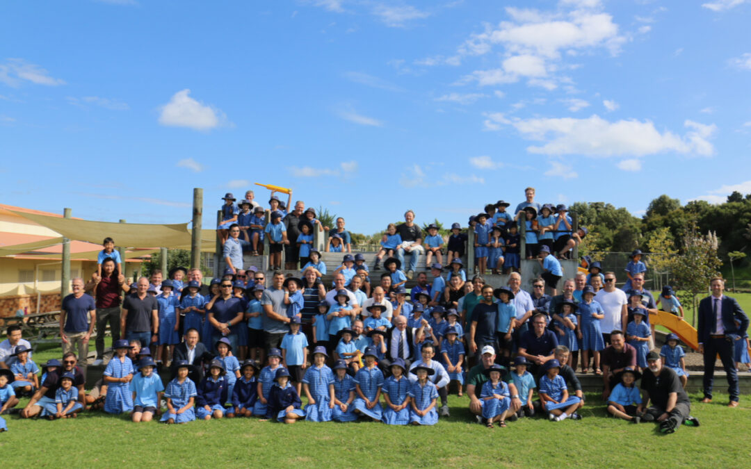 Primary School welcomes 'Dads' to school