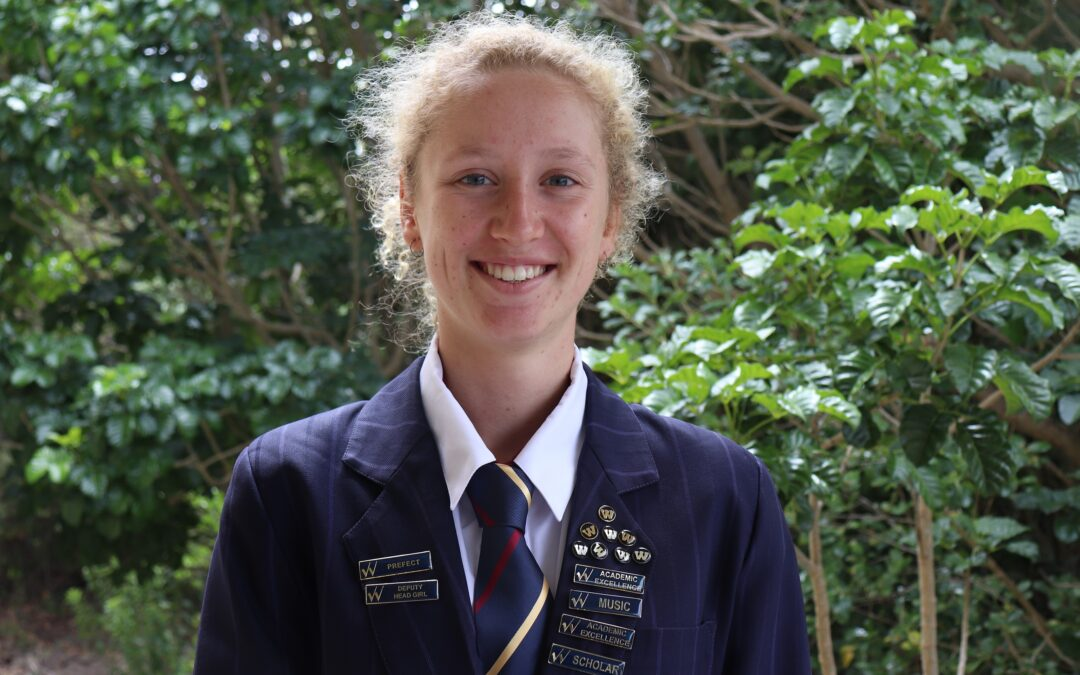 Deputy Head Girl shares journey to Top of the World